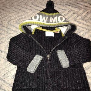 Zara boys zip up sweater